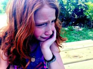 hurting child
