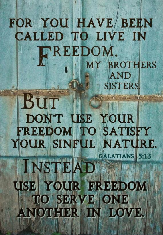 freedom verse